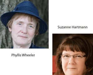 Phyllis Wheeler and Suzanne Hartmann
