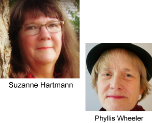 Phyllis Wheeler and Suzanne Hartmann