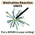 Using Motivation-Reaction Units to Change Telling into Showing