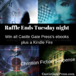 We're raffling off a Kindle Fire with all five of our ebooks. Ends tomorrow night!
